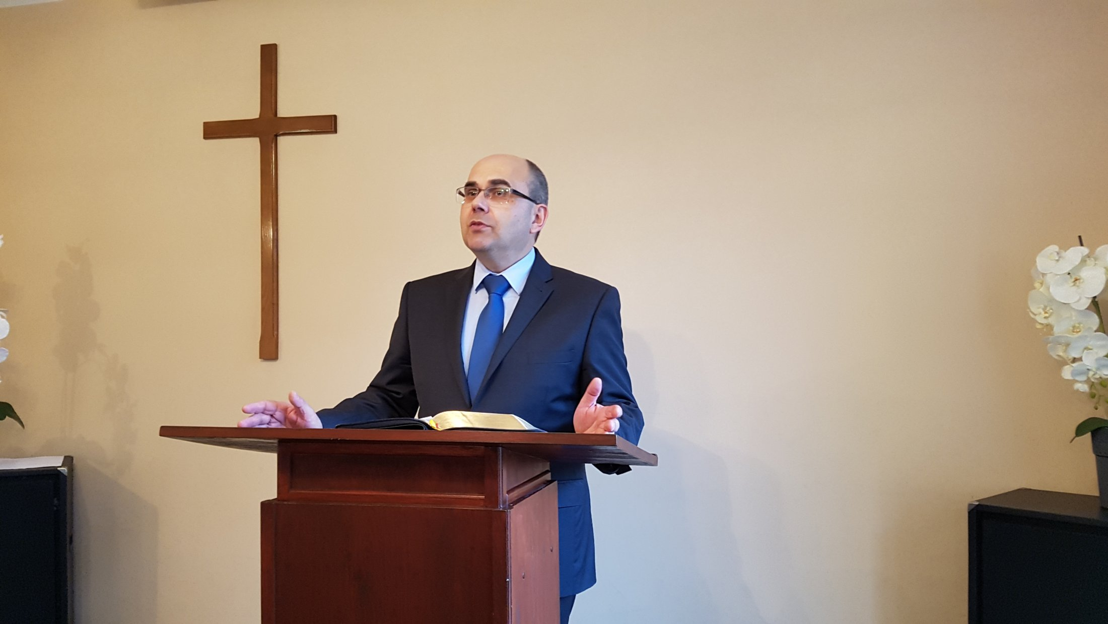 Pastor Mariusz Zaborowski