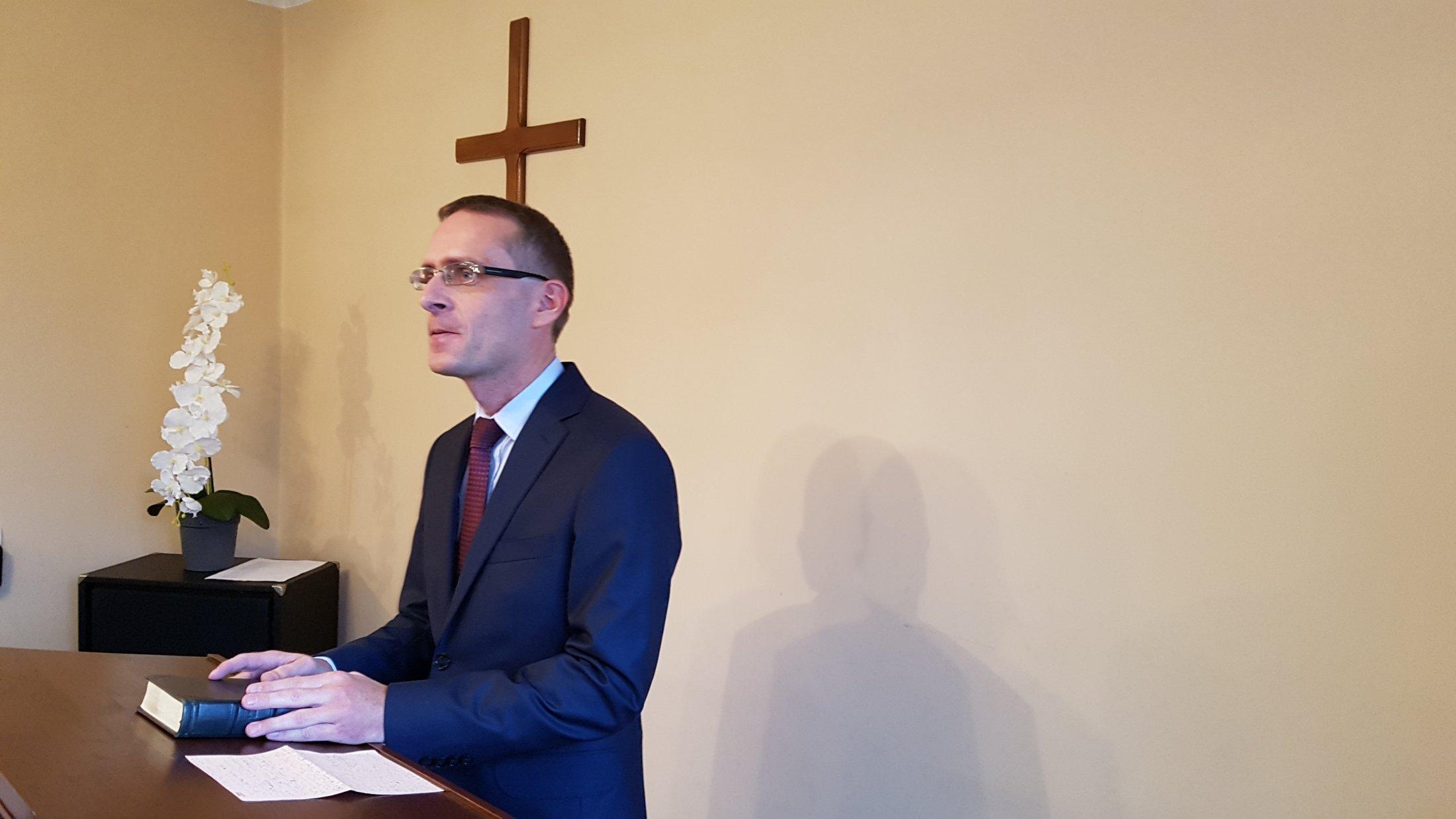 Pastor Piotr Stachurski