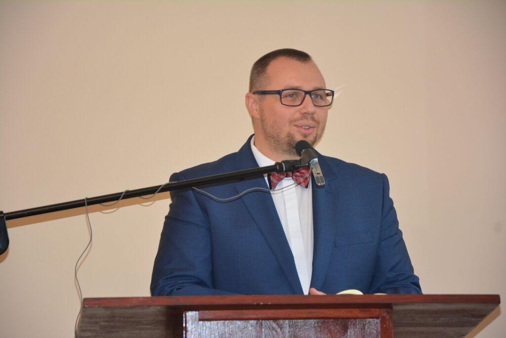 Pastor Adam Grześkowiak - były duszpasterz zboru siedleckiego